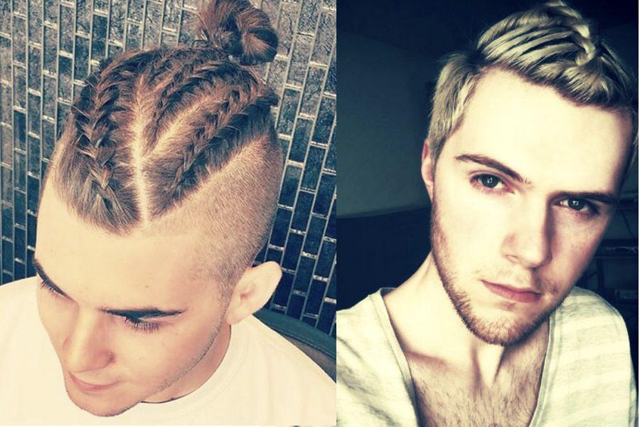 Новый тренд для мужчин: косы